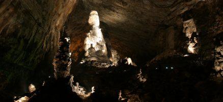 Las grutas de Cacahuamilpa